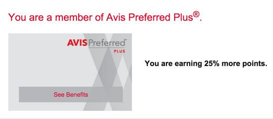 Details So Far About The New Avis Loyalty Program