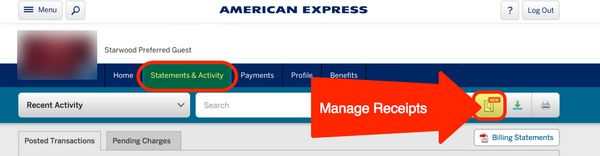 Easily Organize Receipts Online With This New AMEX Tool