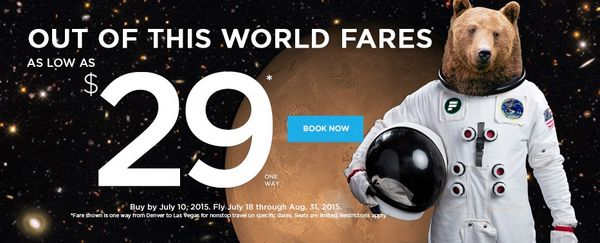 Ends Tomorrow Frontier 1 Way Flights For 29