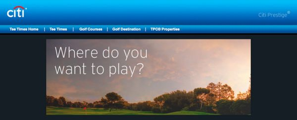 Great Golf Deals Discounts With Visa VIP Championship Tickets With Starwood Points More