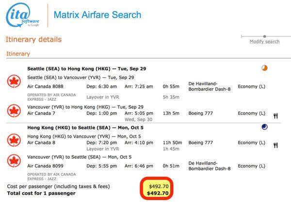 Hot Deal Flights To Hong Kong 500 Or Less Won't Last