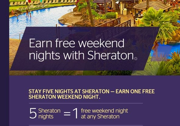 News You Can Use Earn Free Weekend Nights At Sheraton Save 75 At Hilton Easy Free 15 For US Bank Visa Cardholders