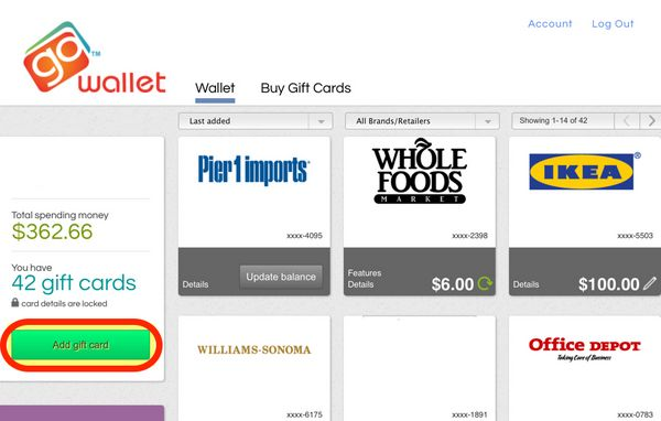 Protect And Organize Your Gift Cards With GoWallet
