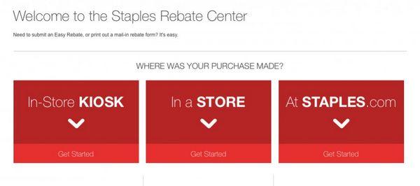 Save Money With Staples Easy Rebates