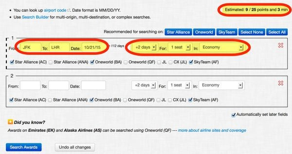 Save Time Searching For Award Seats With Award Nexus