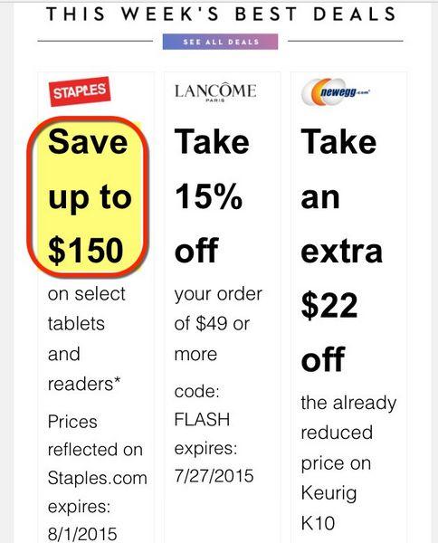 Shopping Deals For AMEX Cardholders Staples eBags Hersheys More