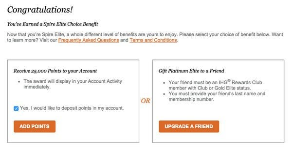 Should You Transfer Points To Earn IHG Elite Status