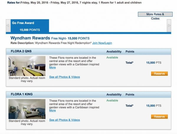 Which Wyndham Hotels Can You Book For 15,000 Points Per Night