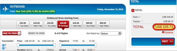 536 Nonstop New York To Brazil All You Can Fly In Brazil For 299