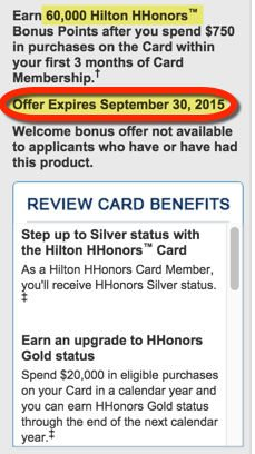 Better Offer 60,000 Hilton Points With The AMEX Hilton Card For A Limited Time