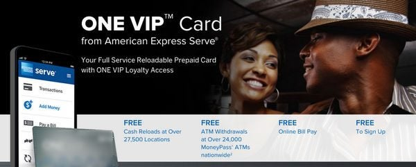 Don't Yet Have AMEX Serve but Don't Want to Pay the New Fees? Then Get the Serve ONE VIP Card!