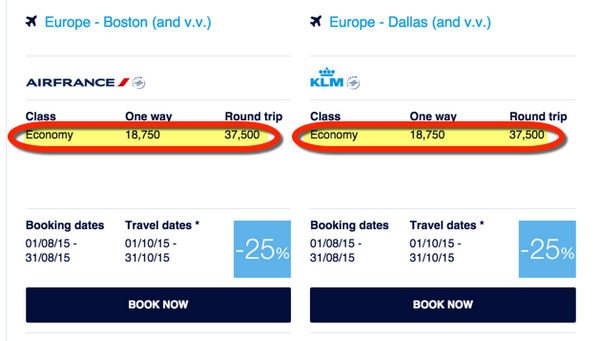 Fly To Europe And Beyond For Only 19,000 Miles 1 Way This Fall With Flying Blue Promo Awards