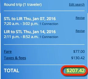 Hot Fare! ~$207 Costa Rica Round-Trip From Charlotte, Dallas, Philadelphia, Phoenix, St. Louis