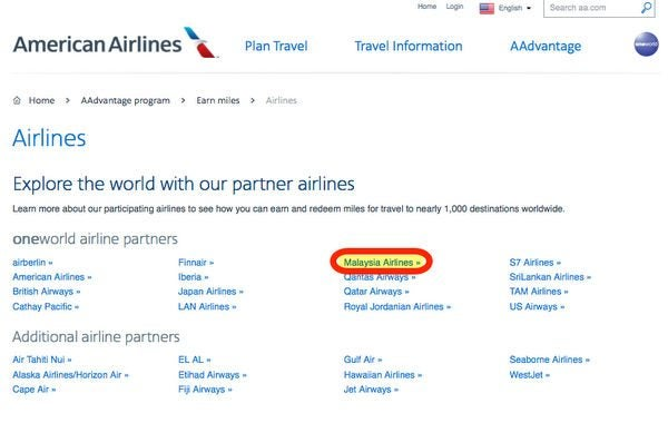 How To Find Out How Many Miles Youll Earn When Crediting A Flight To A Partner Airline