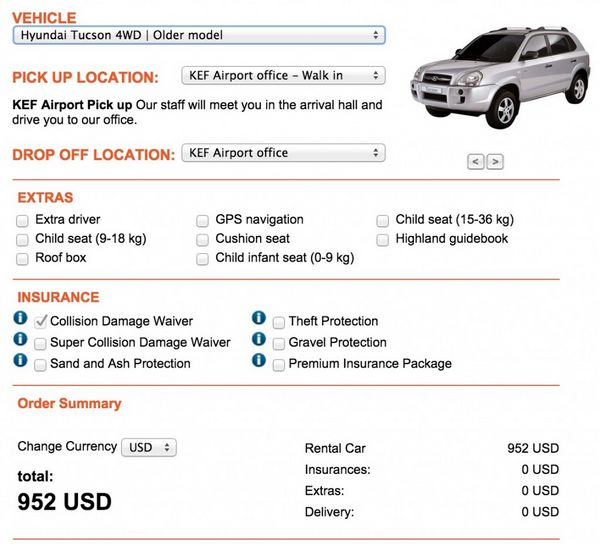 How To Get The Best Deal On A Car Rental In Iceland