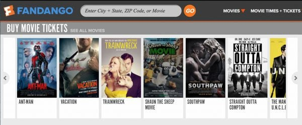 Last Chance Buy 1 Get 1 Free Move Tickets From Fandango
