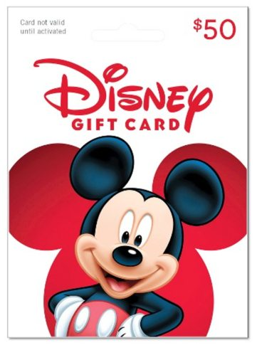 New Trick to Consolidate Your Disney Gift Cards!