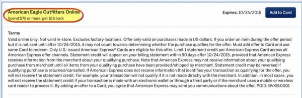 News You Can Use AMEX Gift Cards Deal 15 For 2,000 Airline Miles 15 Off American Eagle More