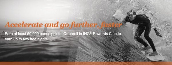 Stay Twice With IHG And Earn A Free Night At ANY IHG Hotel Offer For New Members Only