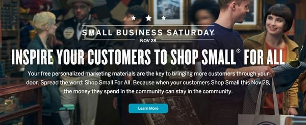 AMEX Will NOT Offer Statement Credits This Year On Small Business Saturday