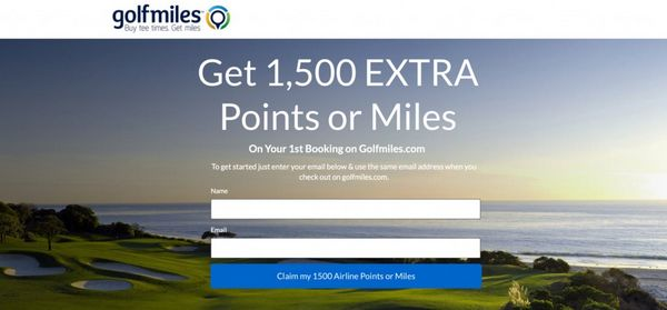 Blog Giveaway 10,000 Miles From Golfmiles.com