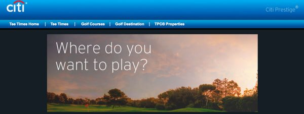Can Citi Prestige Cardholders Golf Together For Free