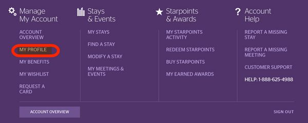 Can You Merge Starwood Points Into 1 Account