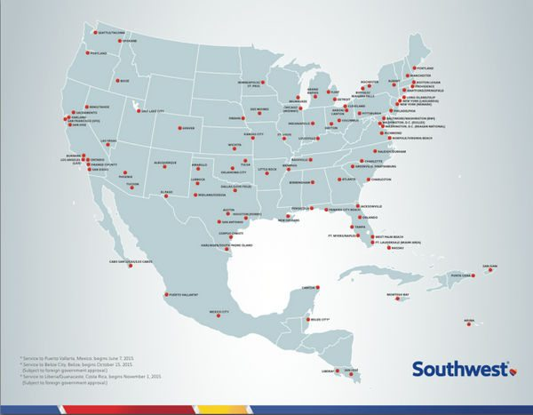 Folks In These 10 Cities Get An Especially Great Deal With The Southwest Companion Pass