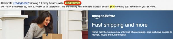 Get Amazon Prime for $60 Instead of $99, Lock-In the Price for Years!