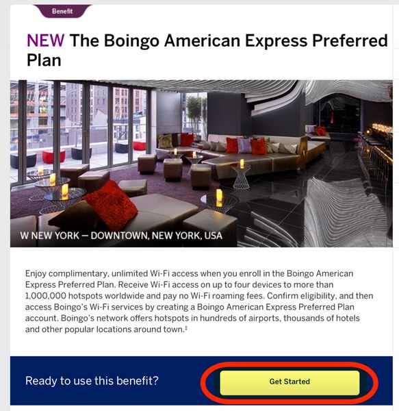 Get Free Wi-Fi When You Travel With The AMEX Starwood Cards