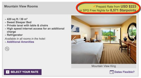 How Starwood Nights Flights Can Save You Thousands Of Dollars