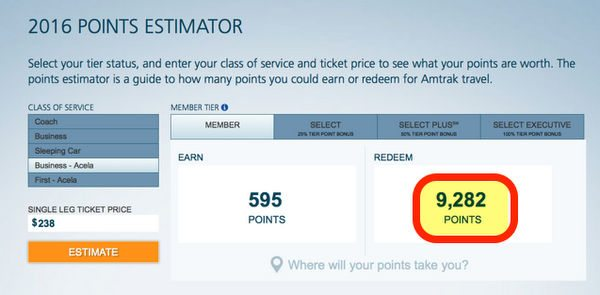 How To Get Big Amtrak Train Travel Using Starwood Points