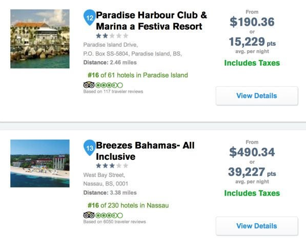 Nassau Bahamas Cheap Airfare Hotel With Southwest Companion Pass Points