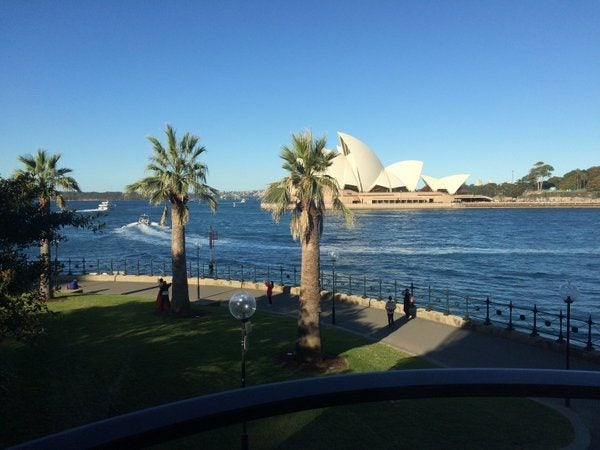 A Quick Trip Down Under:  Part 3 – Park Hyatt Sydney – Opera Deluxe Room