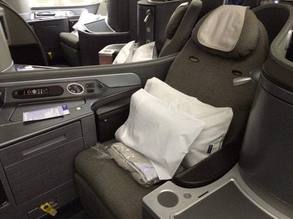 United Airlines Global First Review