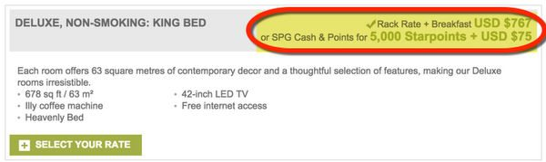 Why 5,000 Extra Starwood Points Is A Big Deal The Magic Of Cash Points