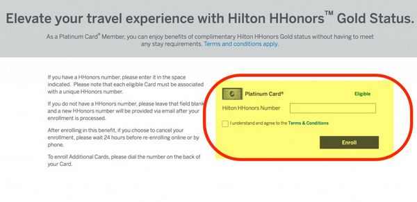 AMEX Platinum Cards Now Give You Hilton Gold Status Free Breakfast Room Upgrades