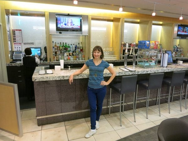 Captivating Croatia: Part 2 – Admirals Club Lounge, New York (JFK)