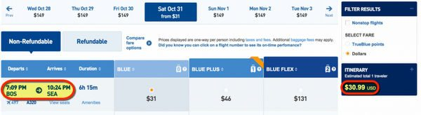 Fly JetBlue On Halloween For 31 Even Cross Country Puerto Rico