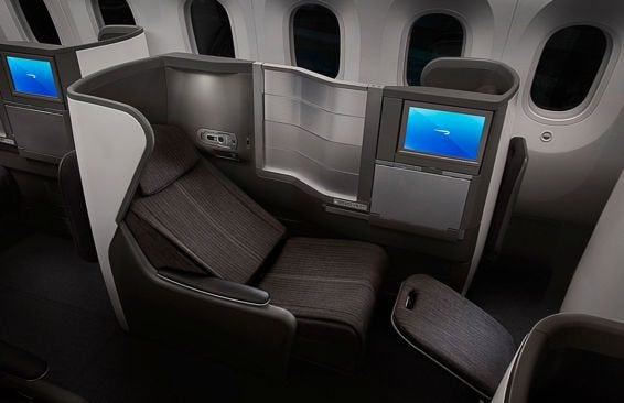 Hot British Airways Business Class To London 446