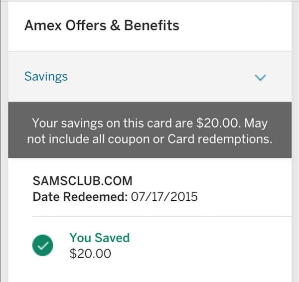 How Do Your AMEX Offers Savings Compare To Others