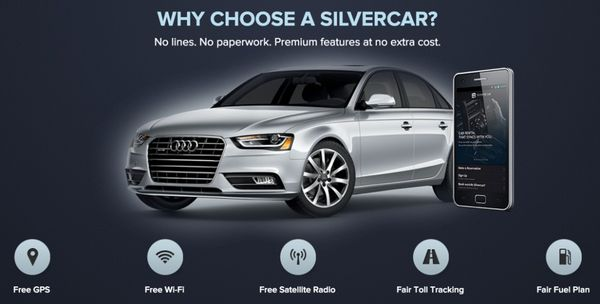 New To Silvercar Save 100 On Your 1st Rental