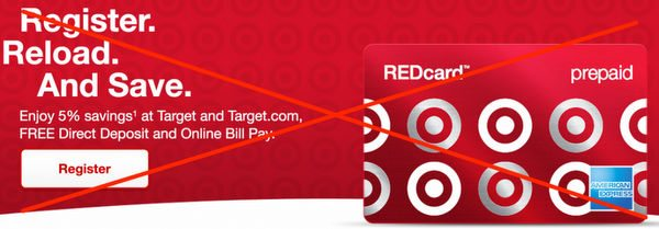 You Can No Longer Fund Target Prepaid REDcard With Debit Cards What To Do Now