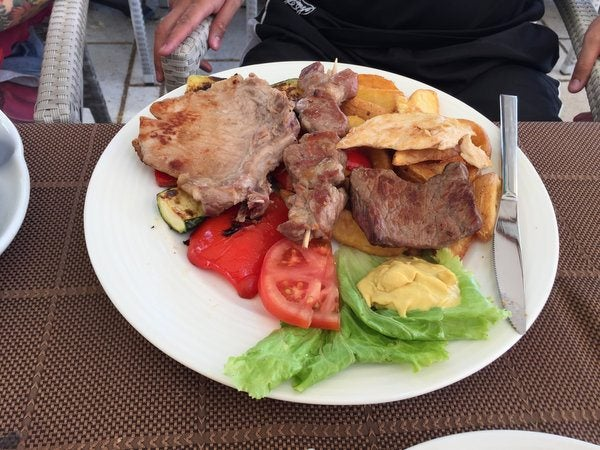 Eating In Rovinj Croatia
