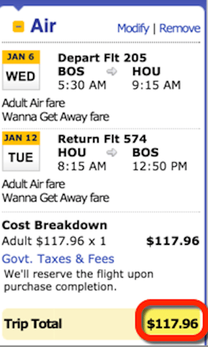 Ends Today 118 Round Trip Flights Other Southwest Deals