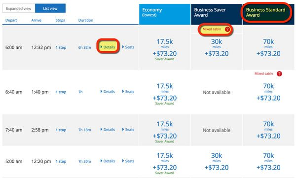 How To Fly Including Business Class To Mexico Central America With Chase Sapphire Preferred