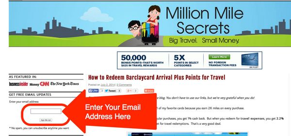 How To Get The Most Out Of Million Mile Secrets