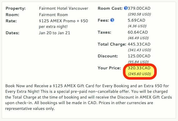 Save Money At Vancouver Hotels This Winter
