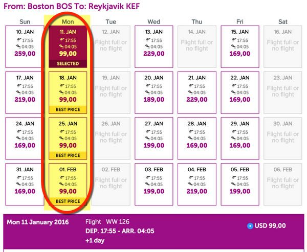 99 1 Way To Iceland 149 To Bristol London And Paris On WOW Air