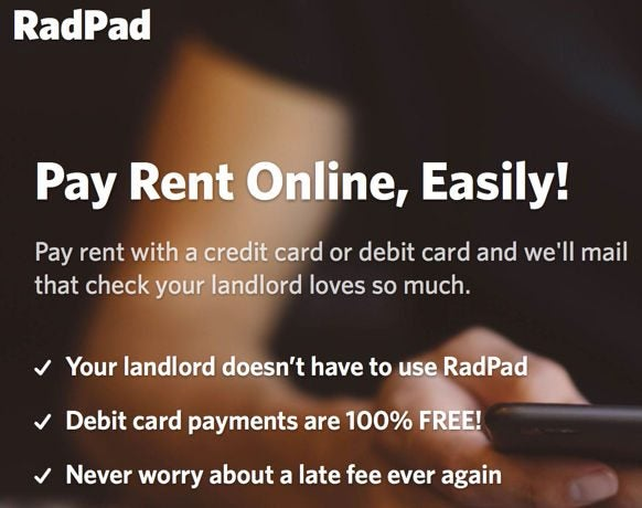 Earn Miles & Points & Cash Back Paying Rent With RadPad